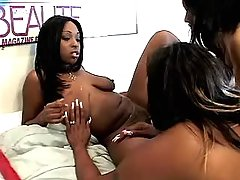 Sex addicted black lesbian going naughty